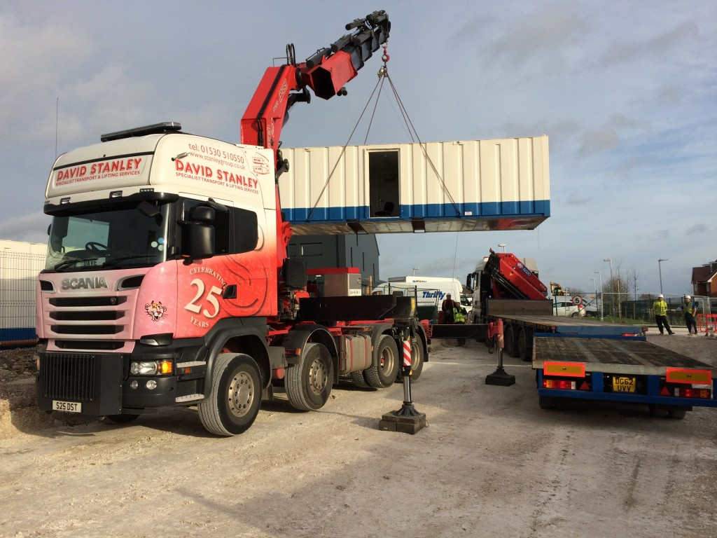 110 T M Artic Lorry Stanley Group